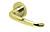 scoop pullbloc 3.0 türdrücker form 1103 in pvd messinggelb auf rundrosette