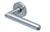 scoop pullbloc 3.0 türdrücker form 1107 in edelstahl matt auf rundrosette