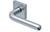 scoop pullbloc 3.0 türdrücker form 1200 in edelstahl matt auf quadratrosette