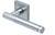 scoop pullbloc 3.0 türdrücker form 1275 in edelstahl matt auf quadratrosette