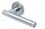 scoop pullbloc 3.0 türdrücker form 1275 in edelstahl matt auf rundrosette