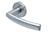 scoop pullbloc 4.1 türdrücker form 1003 in edelstahl matt auf rundrosette
