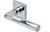 scoop pullbloc 4.1 türdrücker form 1016 in edelstahl poliert auf quadratrosette