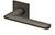 scoop formspiele türdrücker form 8010 in titanium matt auf quadratrosette