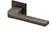 scoop formspiele türdrücker form 8044 in titanium matt auf quadratrosette