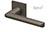 scoop formspiele türdrücker form 8050 in titanium matt auf quadratrosette