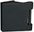 scoop glastürbeschläge glastürband dreiteilig in black satin