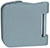 scoop glastürbeschläge glastürband dreiteilig in edelstahl matt abgerundet