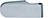 scoop glastürbeschläge glastürband zweiteilig in edelstahl poliert abgerundet