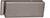 scoop glastürbeschläge gegenkasten form b in nickel satin