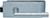 scoop glastürbeschläge glastürschloss form c in edelstahl matt