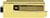 scoop glastürbeschläge glastürschloss form b in messing poliert