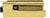 scoop glastürbeschläge glastürschloss form b in pvd messinggelb