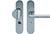 scoop sicherheit tresor griffplatte und drücker schildgarnitur in edelstahl matt mit kernziehschutz
