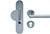 scoop sicherheit einbruchschutzklasse 2 griffplatte und pz halbgarnitur in edelstahl matt mit kernziehschutz