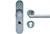 scoop sicherheit einbruchschutzklasse 2 zylindrischer knopf und pz halbgarnitur in edelstahl matt mit kernziehschutz